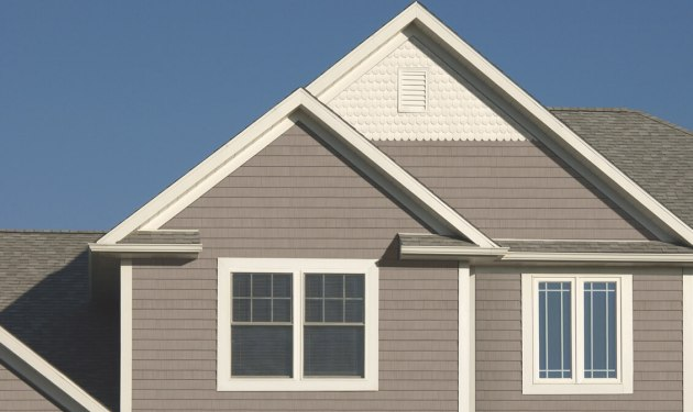 New home siding