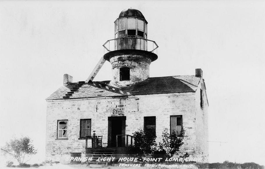 Point Loma Old Lighthouse California at