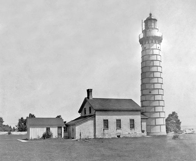 Cana Island Lighthouse Wisconsin at Lighthousefriendscom