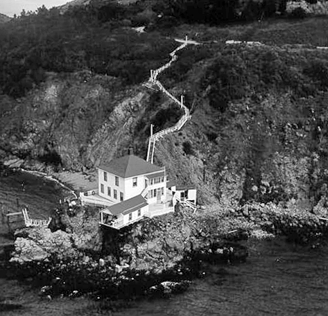 Point Knox Lighthouse California At Lighthousefriends Com