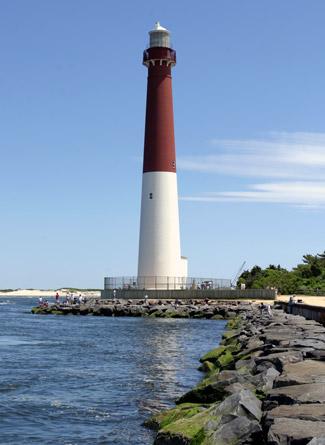 Barnegat Lighthouse New Jersey at Lighthousefriendscom