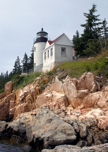 Bass Harbor Head Lighthouse Maine At Lighthousefriends Com