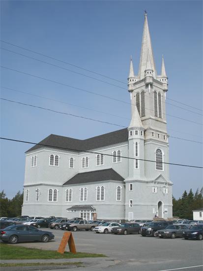 Church Point Lighthouse Nova Scotia Canada At