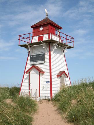 Covehead Harbour Lighthouse Prince Edward Island Canada