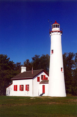 Sturgeon Point Lighthouse Michigan At Lighthousefriends Com