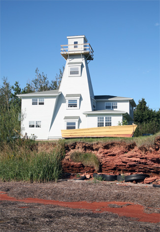 Northport Range Rear Lighthouse Prince Edward Island