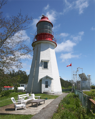 Pachena Point Lighthouse British Columbia Canada at