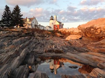 Pemaquid Point Lighthouse, October 2013. Copyright Candace Clifford