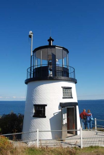 Owls Head Lighthouse, copyright Candace Clifford, 2013
