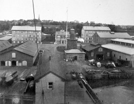 General Depot, Staten Island, New York. Photo courtesy National Archives