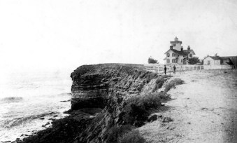 Point Fermin in 1893. Herbert Bamber photo courtesy U.S. Coast Guard