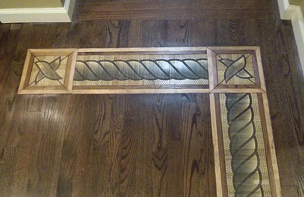 Hardwood Floor Medallions  Wood Floor Designs  Inlays  Borders  Parquet Designs  Marquetry
