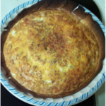 Pizza Quiche (Pepperoni Cheese Pie)