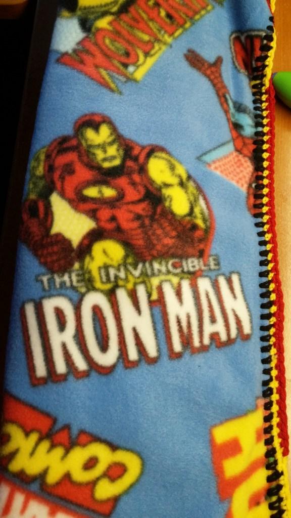 Ironman Blanket