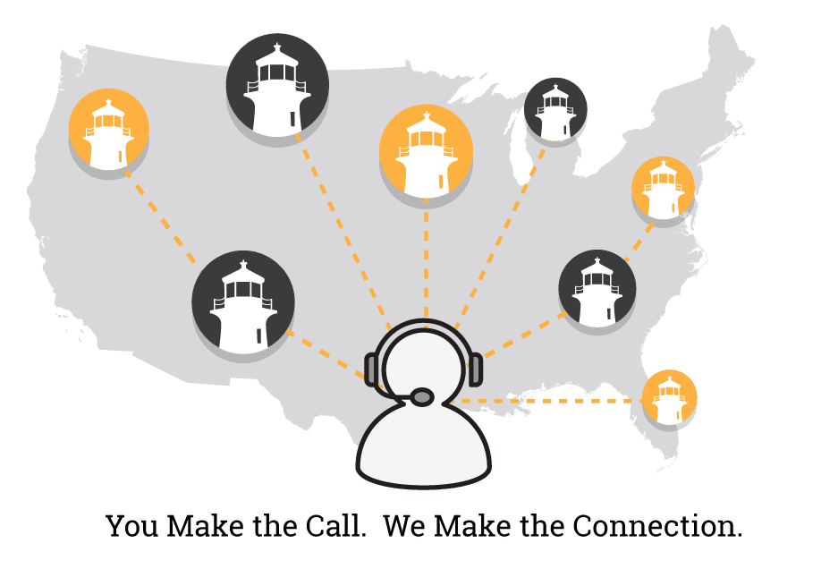 You make the call. We make the connection.