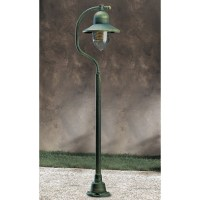 Garden Light Porto 90 Lamp-post Green/Gold 94054 SO Free ...