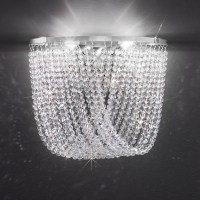 Cascade Crystal Wall Light