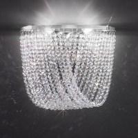 Cascade Crystal Wall Light - Kolarz Lighting - Lighting Deluxe