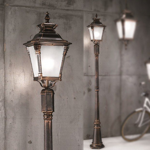 Antique Lamp Post Lights Outdoor