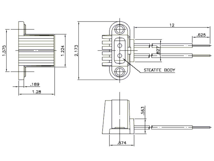 Part # GP220, Stage and Theater Lampholders for Lamp Base