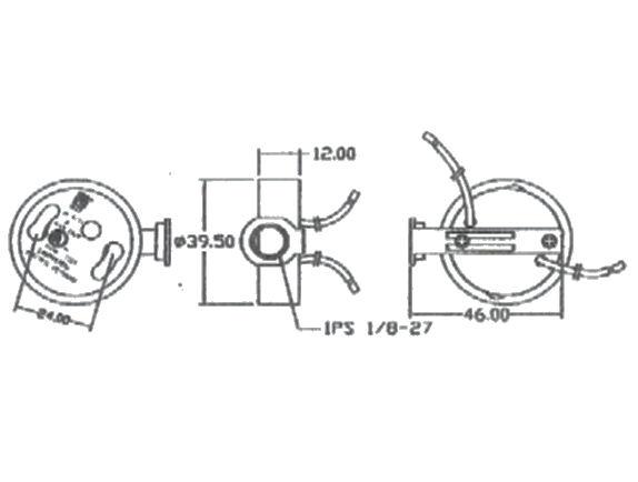 Part # SC-6011A2, GU24 Compact Fluorescent Socket On