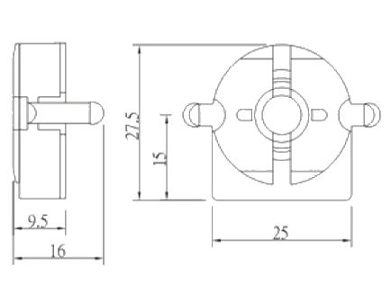 Part # T805, T8 and T12 Lampholders On Mitronix, Inc.