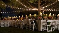 Bistro Lighting Outdoor Wedding   Lighting Ideas