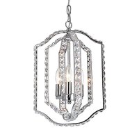 LaLuLa Crystal Pendant Lighting Kitchen Island Chandelier