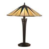 Dark star 64045 Tiffany 2 Light Large Table Lamp ...