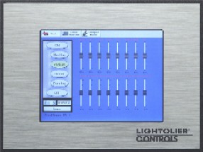 Lightolier® Controls is Proud to Announce LyteScene™ Touch Screen Master Station