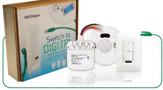 wattstopper switch to digital
