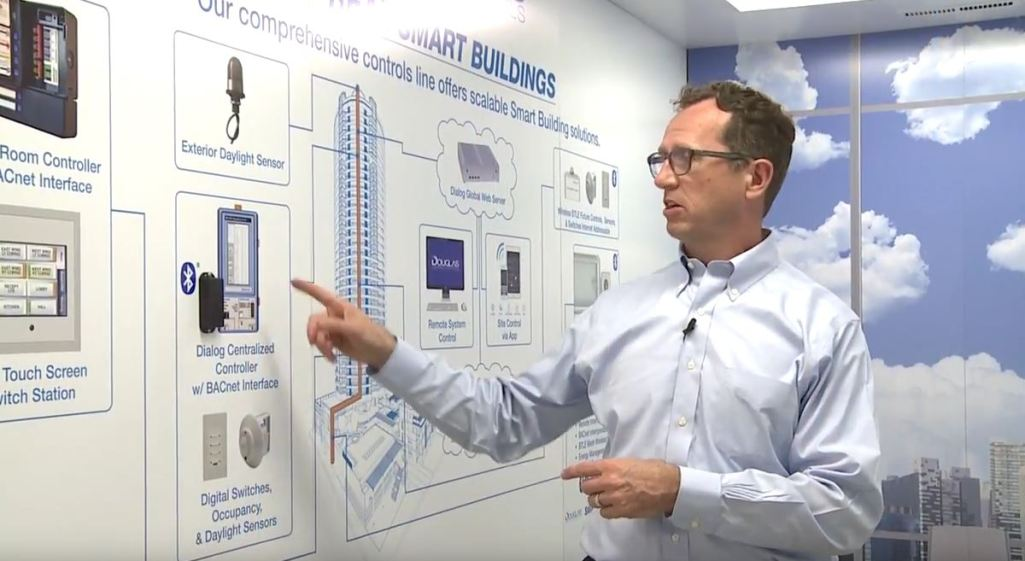 LCA TV: Bluetooth Wireless Control System by Douglas Lighting Controls