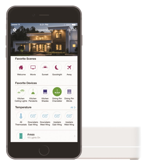 Lutron Announces Apple® HomeKit Capabilities for RadioRA 2 and HomeWorks QS Systems