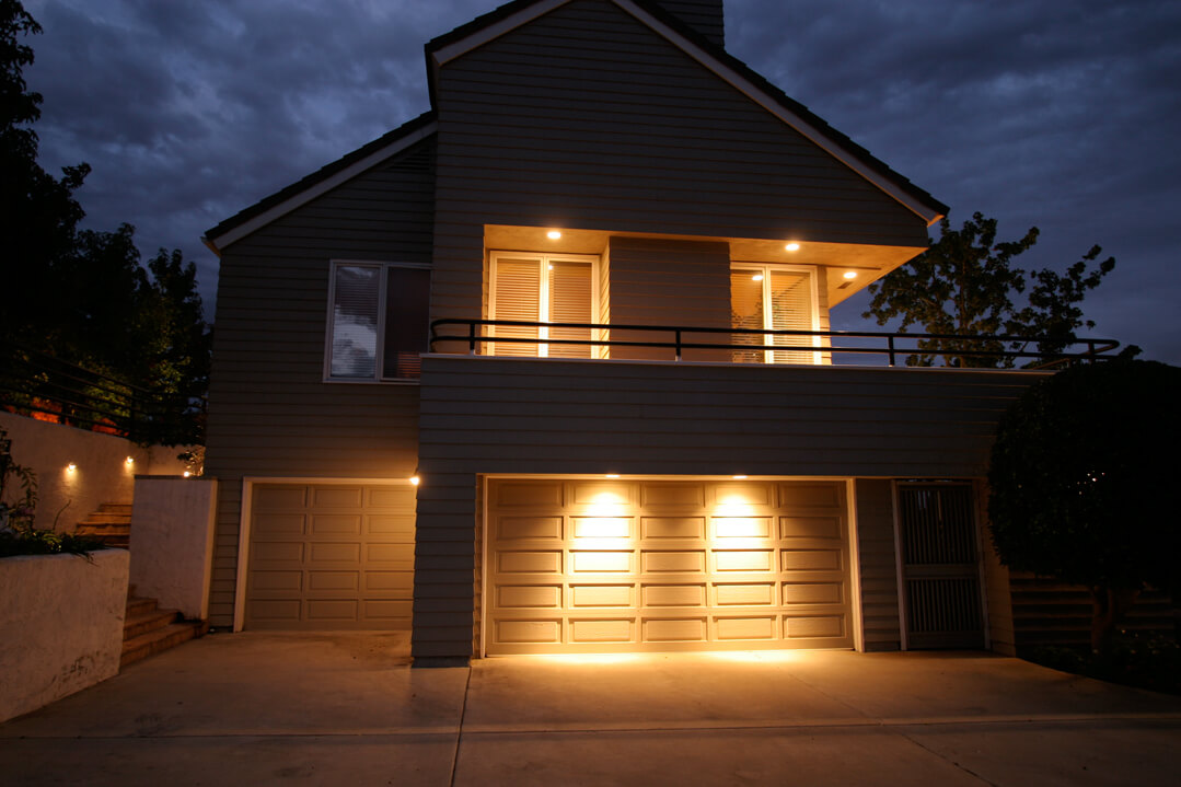 Exterior Garage Door Lighting Lighting Distinctions