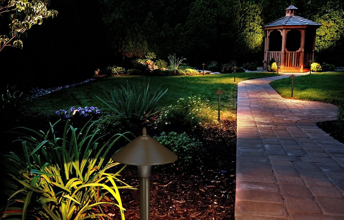 Fx Luminaire LED Path & Garden Outdoor Landscape Lighting