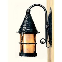 Vintage Iron LF201 Cottage Wall Sconce Mica Lamps ...