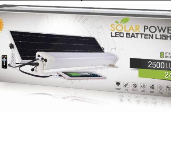 led solar head strip