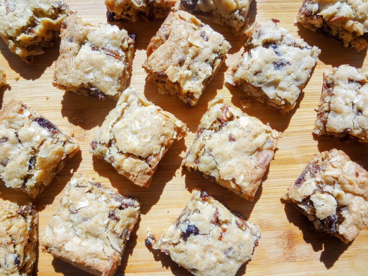 Pantry Cleaning Cookie Bars