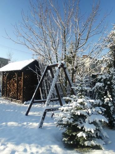 snieg i slonce