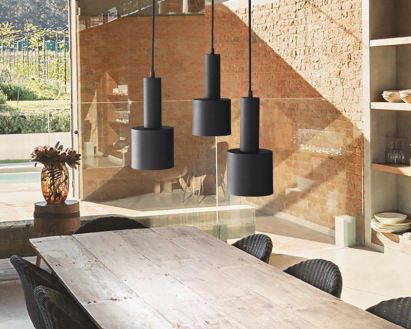 I lampadari moderni per la cucina e il soggiorno sono perfetti se desideriamo uno stile semplice ma allo stesso tempo d'impatto. Holly Tre Ideal Lux Lampadario Cilindrico 3 Luci Lightinspiration It