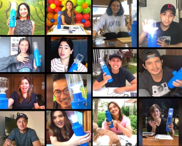 Filipino celebrities join Light it Forward