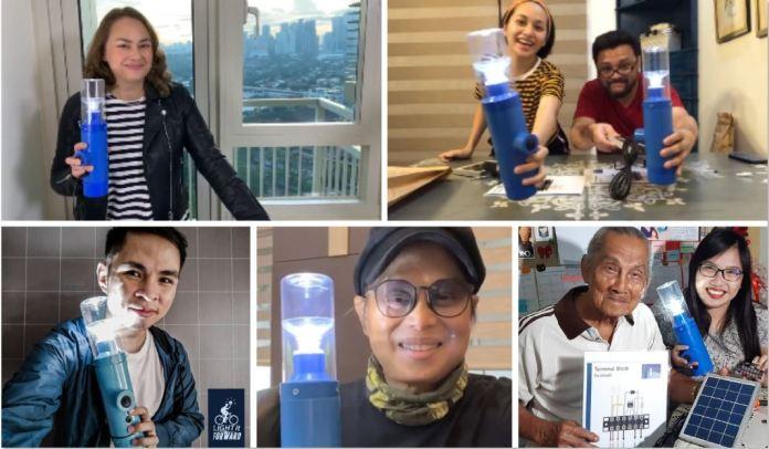 new solar ambassadors light it forward