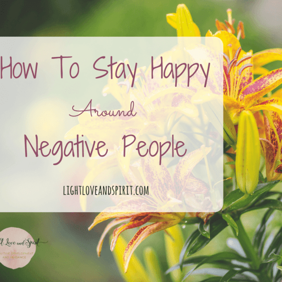 How To Keep A High Vibe Around A Negative Person