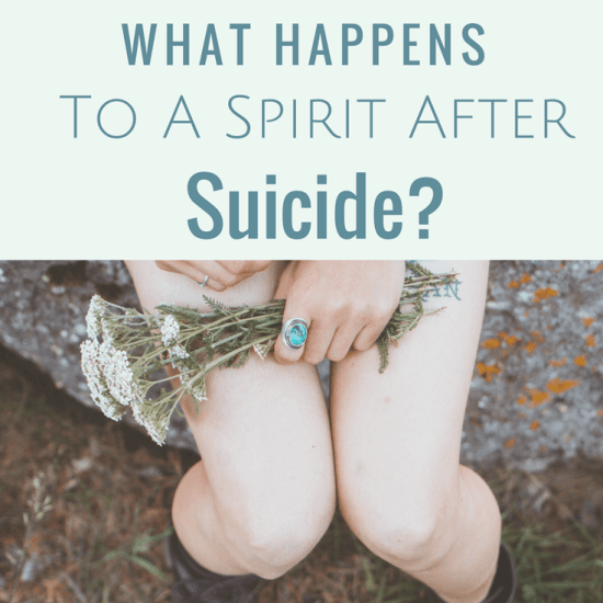 What Happens To A Spirit After Suicide?