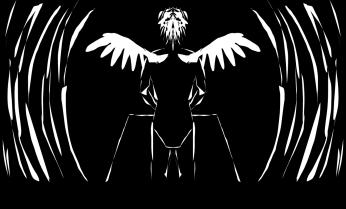 winged man 02
