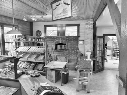Rachel's Bread - wood fired oven