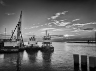 working boats, Chincoteague, va