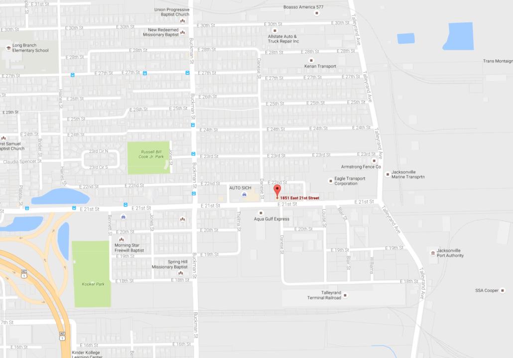 Jacksonville Location