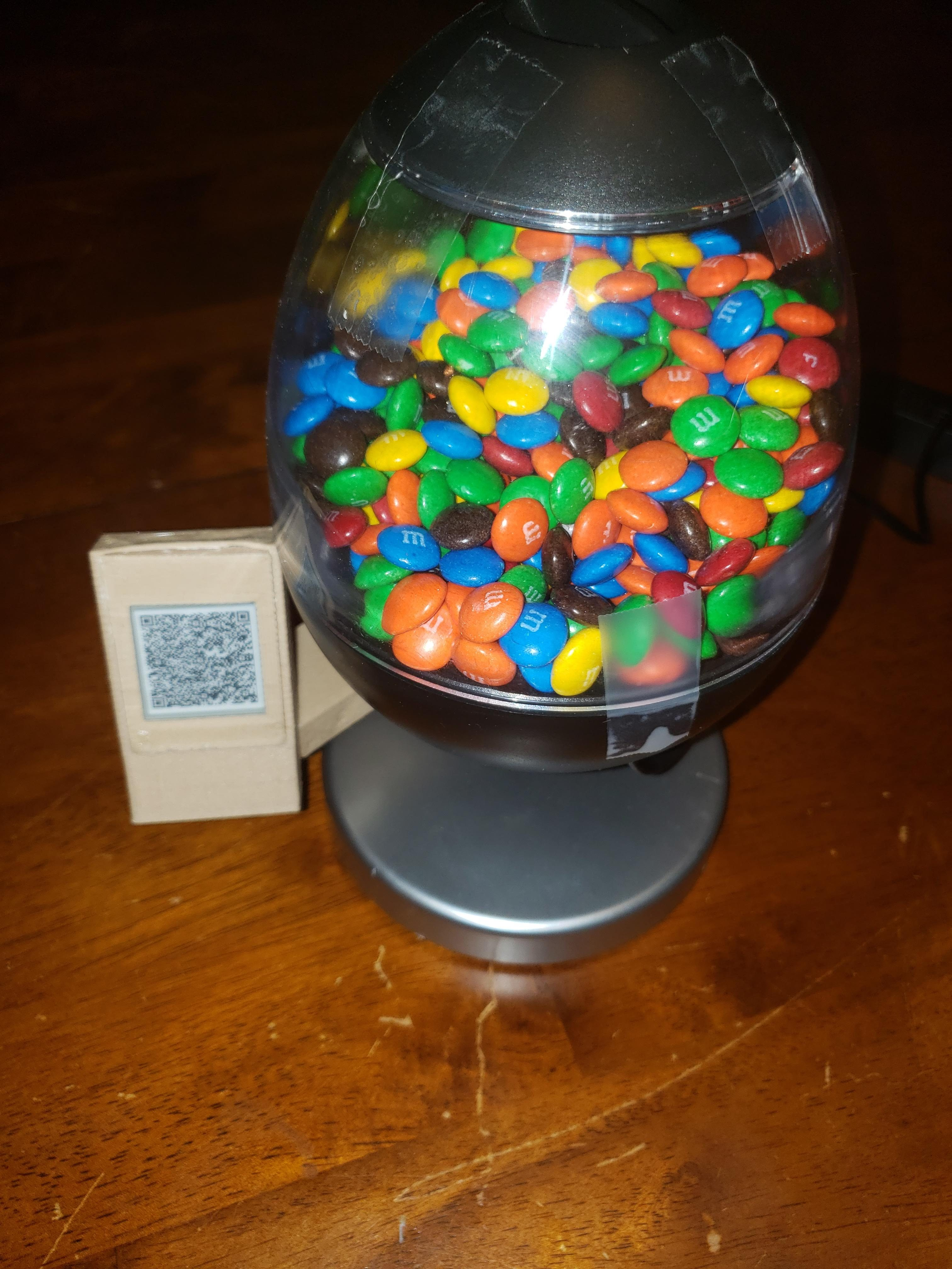 Lightning Powered Candy Dispenser