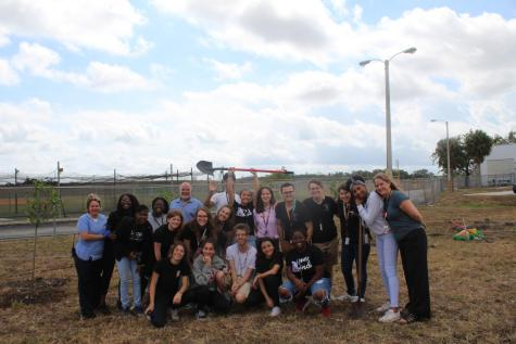Students Plant Trees in Remembrance of the MSD Tragedy